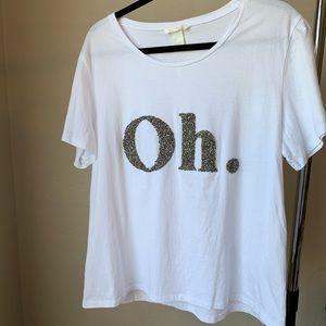 H&M Oh. Tee